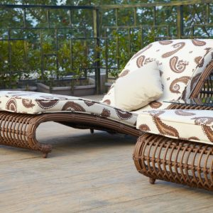 Outdoor Pool side Loungers with tea table