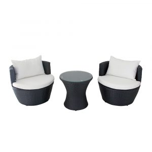 Outdoor Leisure Cup Chair 3 Piece Set HS015