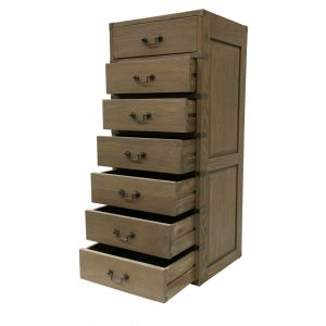 Classic Oak 7 Drawer Chest - All 4 Furnishings