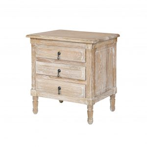 Wooden Bedside table - All 4 Furnishings