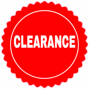 All 4 Furnishings Clearance Sale Item