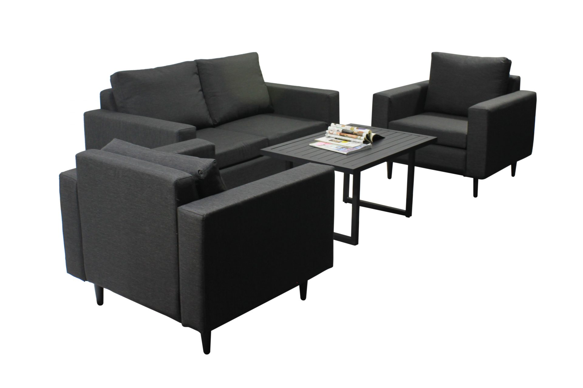 Outdoor Fabric Sofa Suite - All 4 Furnishings