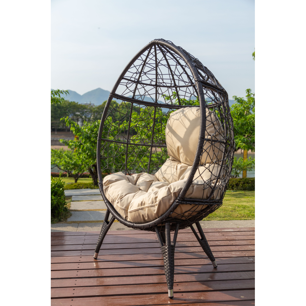 HC5025G Outdoor Kooka Basket Standing Chair