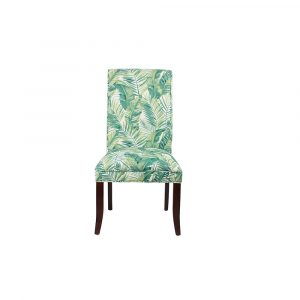 Green Ross Solid Rubber Wood Dining Chair HWC043 All 4 furnishings
