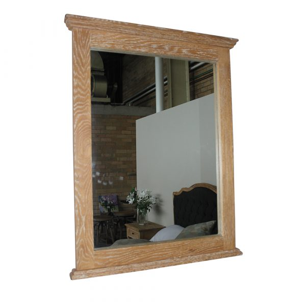 Mirela Oak Timber Mirror HWM001 All 4 Furnishings