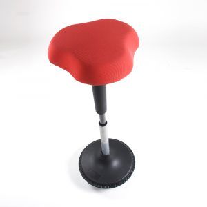Anti-Slip Base Adjustable Active Sit Stand Wobble Stool HF-WST-RED